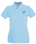 Ladies Fitted Polo ss505 - Any branch badge